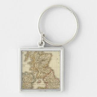 British Isles 4 Keychain