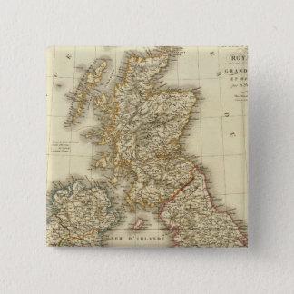 British Isles 4 Pinback Button