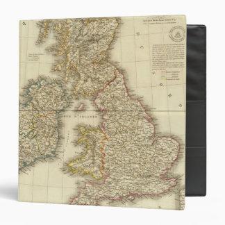 British Isles 4 Vinyl Binder