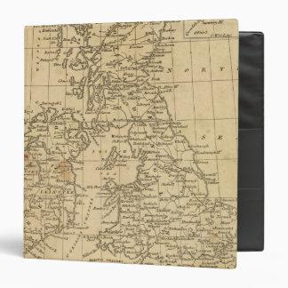 British Isles 5 3 Ring Binder