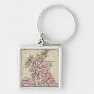 British Isles 5 Keychain