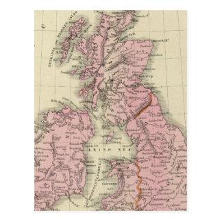British Isles 5 Postcard