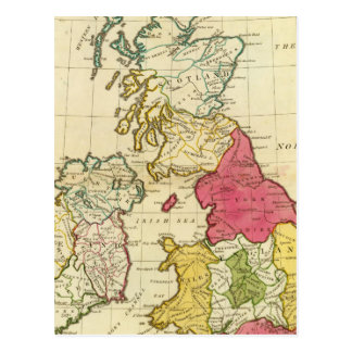 British Isles 6 Postcard