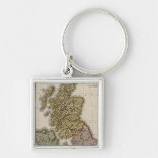 British Isles 7 Keychain