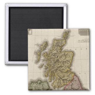 British Isles 7 Magnet