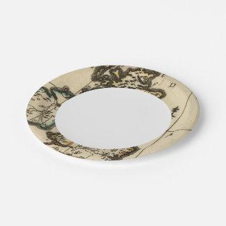 British Isles 7 Paper Plate