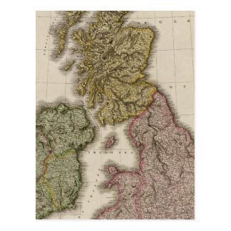 British Isles 7 Postcard