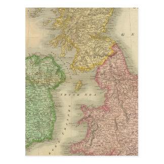 British Isles 8 Postcard