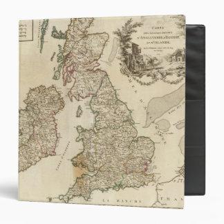 British Isles 9 3 Ring Binders
