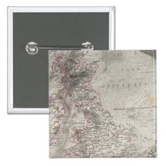 British Isles and surrounding sea Button