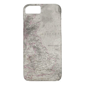 British Isles and surrounding sea iPhone 7 Case