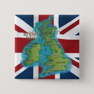 British Isles Button