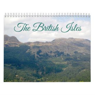 British Isles Calendar
