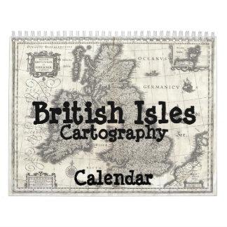 British Isles Cartography Calendar
