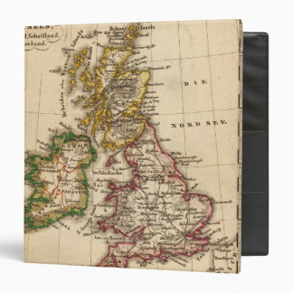 British Isles Map Binder