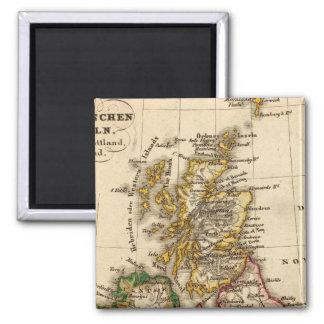 British Isles Map Magnet