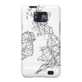 British Isles memorabilia - line drawing Galaxy S2 Cover