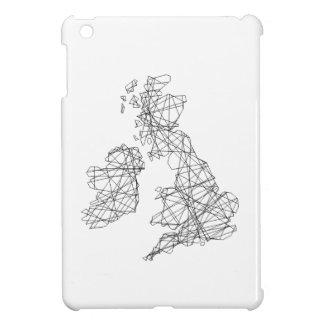 British Isles memorabilia - line drawing iPad Mini Cases