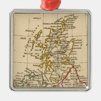 British Isles Metal Ornament