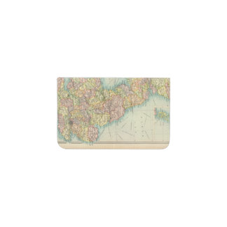 British Isles political map Business Card Holder