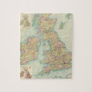 British Isles political map Puzzle