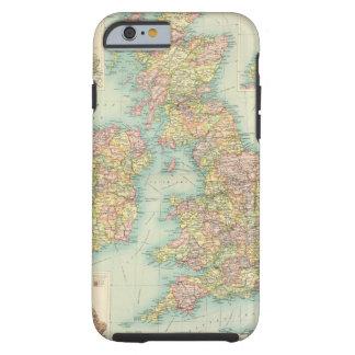 British Isles political map Tough iPhone 6 Case