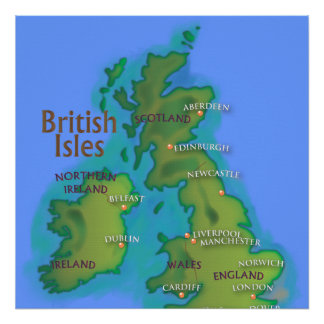 British Isles Posters
