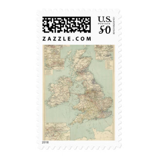 British Isles railways Postage