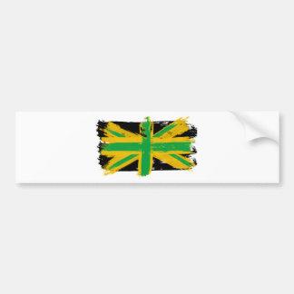 British Jamaican Bumper Sticker