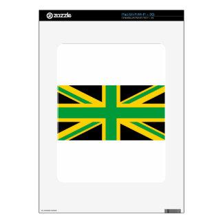 British - Jamaican Union Jack Decals For The iPad