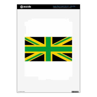 British - Jamaican Union Jack iPad 3 Decals