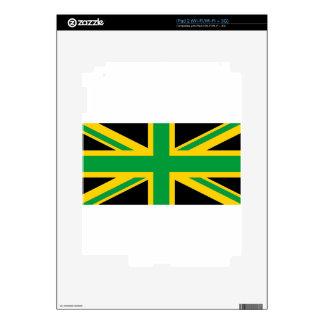 British - Jamaican Union Jack Skins For iPad 2