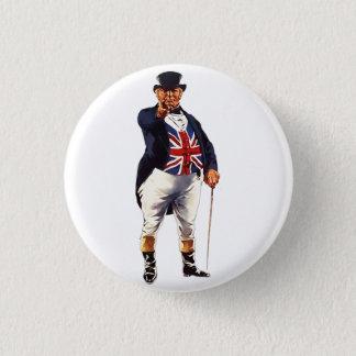 British John Bull Pinback Button