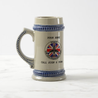 BRITISH JTAC BEER STEIN 18 OZ BEER STEIN