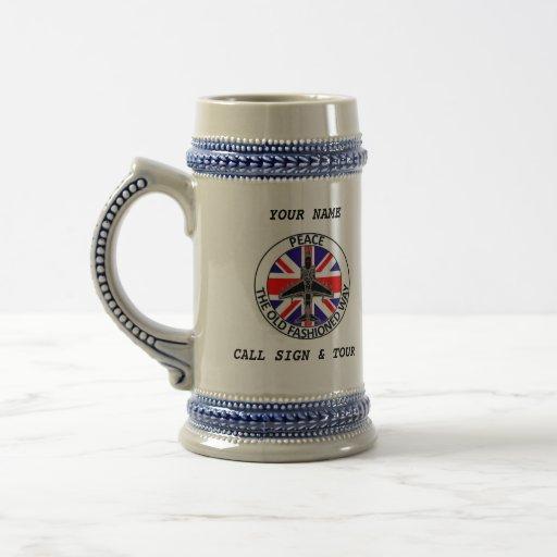 BRITISH JTAC BEER STEIN MUGS