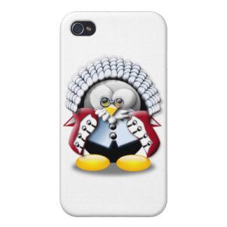 British Judge Tux iPhone 4 Covers