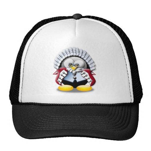 British Judge Tux Trucker Hat