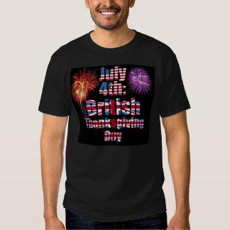 British July 4th T-Shirt