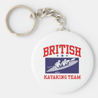 British Kayaking Team Key Chains