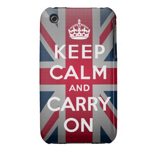 British Keep Calm iPhone 3G/3GS Barely There™ Case iPhone 3 Cover