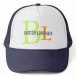 British Longhair Monogram Trucker Hat
