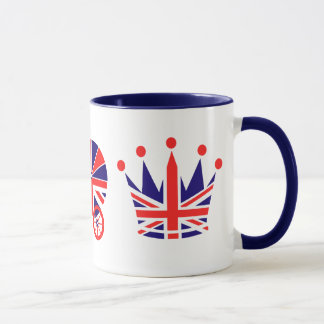 British Love, Baby, Crown Mug