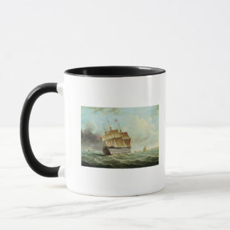 British Man-o'-War Mug