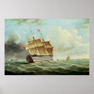 British Man-o'-War Poster