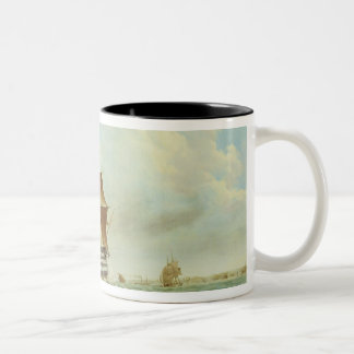 British Man-o'-War Two-Tone Coffee Mug