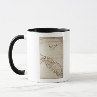 British map of the Siege of Yorktown, 1781 Mug