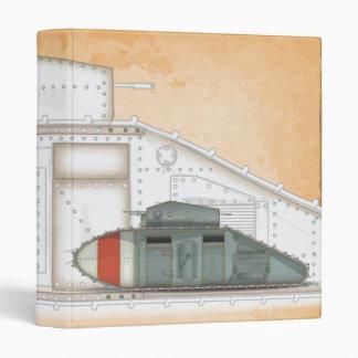 British Mark 1 Tank Binder