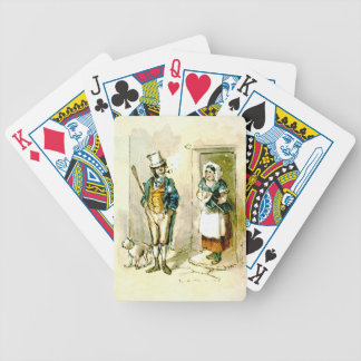 British Married Couple 1846 Bicycle Playing Cards