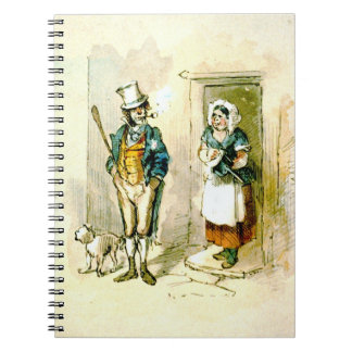 British Married Couple 1846 Notebook