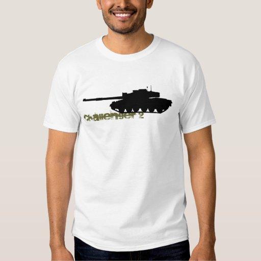 British MBT Challenger 2 T Shirt